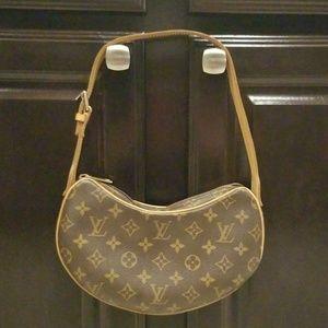 Authentic Louis Vuitton Croissant Handbag